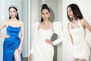 Lương Thùy Linh, Kiều Loan và dàn người đẹp diện váy áo sexy gây 'náo loạn' ĐH Văn Lang