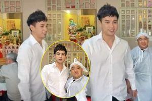 Bị chỉ trích khi tươi cười trong đám tang bố ruột Hiếu Hiền, Hồ Quang Hiếu nói gì?
