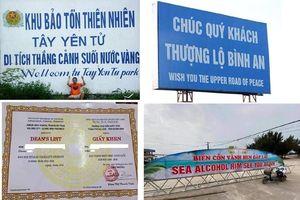 Những 'tai nạn' ngớ ngẩn khi dịch ngôn ngữ Việt - Anh do lạm dụng Google