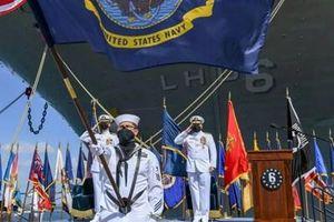 Hải quân Mỹ chính thức khai tử tàu tấn công đổ bộ USS Bonhomme Richard