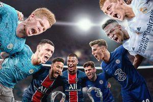 Real Madrid và Man City giành vé vào bán kết Champions League