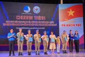 Tự hào người lính 'mũ nồi xanh' Việt Nam tham gia sứ mệnh gìn giữ hòa bình