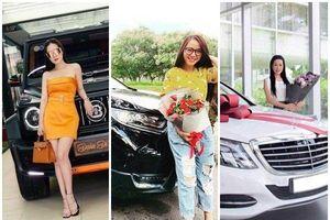 Soi xế hộp bạc tỷ của Di Băng, Hải Băng và loạt 'mỹ nhân' Việt được chồng tặng