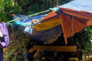 Phá rừng ở Thừa Thiên-Huế: Cận cảnh nơi nghỉ ngơi của lâm tặc