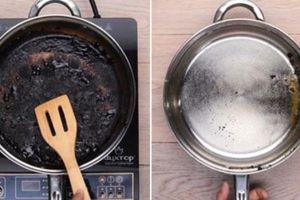 Bỏ một nắm muối hạt vào chiếc nồi bị cháy, bạn sẽ thấy điều bất ngờ xảy ra