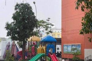 UBND quận 4 thông tin vụ sập đổ tường mái tại Trường Mầm non Ban Mai