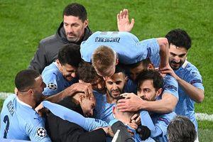 Man City và Real Madrid vào bán kết Champions League