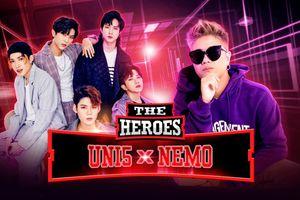 Uni5 'comeback' hoành tráng, chính thức xác nhận chinh chiến The Heroes 2021