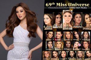 Missosology công bố dự đoán Tân Hoa hậu Hoàn vũ: Mỹ nhân Philippines lọt Top 5, Bolivia sẽ đăng quang?
