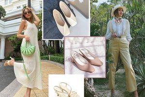 Cơn sốt giày mũi vuông thống lĩnh mùa hè, nhưng phối sao để đẹp từ nhà ra phố?