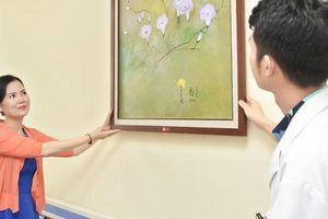 Quỹ tranh Butta sweet life trao tặng 35 bức tranh cho BV Châm cứu TƯ