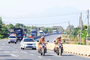 Ra quân cao điểm bảo đảm trật tự an toàn giao thông dịp lễ 30-4 và 1-5