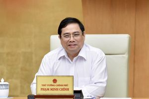 Thủ tướng Phạm Minh Chính chủ trì phiên họp Chính phủ đầu tiên sau kiện toàn