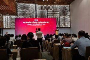 Đại hội đồng cổ đông thường niên 2021 của LDG Group bất thành