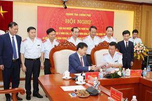 Tổng Thanh tra Chính phủ Đoàn Hồng Phong nhận bàn giao nhiệm vụ