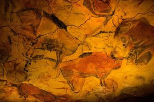 Họa sỹ chui vào sâu hang động vẽ tranh kết nối với thế giới ngầm