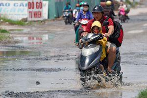 Con đường 'nắng thì bụi, mưa thì lầy lội' ở TP.HCM