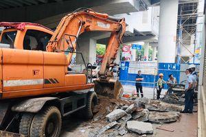 Chủ nhân nhà mặt phố đồng ý giao đất để làm metro Nhổn - Ga Hà Nội