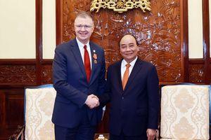 Đại sứ Mỹ Daniel Kritenbrink chào từ biệt kết thúc nhiệm kỳ