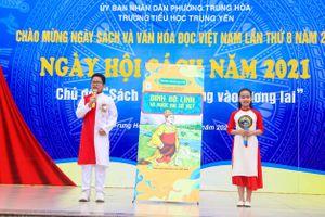 Hà Nội: Trường tiểu học Trung Yên tổ chức ngày Hội Sách và Văn hóa đọc 2021