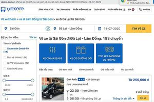 Tràn lan sai phạm bán vé online xe hợp đồng