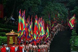 Bắn pháo hoa tầm cao nhân dịp Giỗ Tổ Hùng Vương - Lễ hội Đền Hùng năm 2021