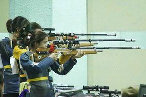 Đoàn Quân đội tạm dẫn đầu tại Giải vô địch Bắn súng trẻ quốc gia năm 2021