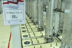 Iran gần hoàn tất công tác chuẩn bị làm giàu uranium ở mức 60%