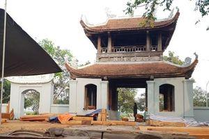 Vụ sai phạm tại Di tích quốc gia chùa Đậu: Ban quản lý bị phạt 20 triệu đồng