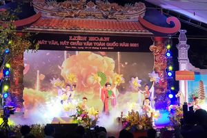 Đoàn Vĩnh Phúc mở màn Liên hoan hát Văn, hát Chầu văn toàn quốc 2021
