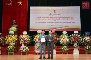 Trường Đại học Bách khoa Hà Nội có tân Chủ tịch Hội đồng trường