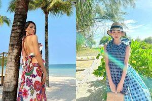 Học lỏm cách chọn váy đi biển xinh ngất ngây từ hội mỹ nhân Việt