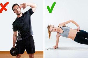 Cẩn thận 5 bài tập đốt mỡ giảm cân, tập sai sẽ làm thân hình phình to