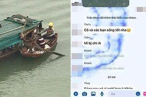 Để lại lời nhắn 'cô và các bạn sống tốt', nữ sinh gieo mình xuống sông Lam tự vẫn