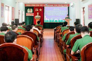 Hương Sơn xử lý 158 vụ việc đợt cao điểm tấn công trấn áp tội phạm