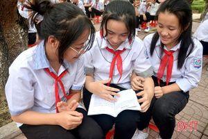 Gần 1.300 học sinh thị xã Hồng Lĩnh tham gia ngày hội đọc sách