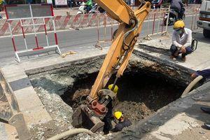 Xuất hiện 'hố tử thần' ở TP Hồ Chí Minh