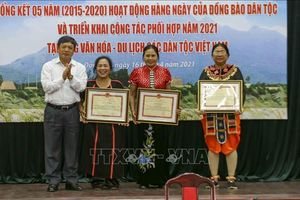 Lan tỏa giá trị văn hóa qua hoạt động hàng ngày của cộng đồng các dân tộc