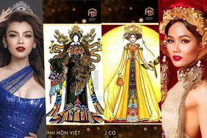Thiết kế trang phục dân tộc cho Trân Đài bị tố 'ăn cắp': Thí sinh trộm bản vẽ từ Miss Universe Vietnam?
