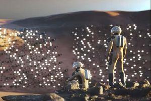 Phối cảnh 3D cho thủ đô tương lai của Sao Hỏa