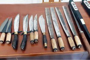 Lâm Đồng bắt giữ nhiều đối tượng dùng súng đạn và hung khí