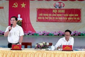 TX. Tân Châu: Đối thoại, giải quyết những vấn đề bức xúc của nhân dân