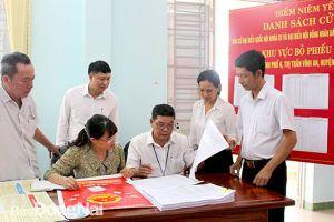 Huyện Vĩnh Cửu: Tích cực chuẩn bị cho ngày bầu cử