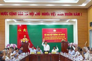 Chốt danh sách 87 ứng cử viên đại biểu HĐND tỉnh khóa XIII