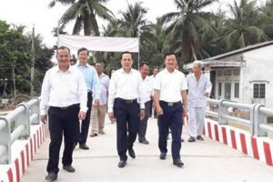 Khánh thành cầu Đại Sư do Báo Giao thông tài trợ tại Trà Vinh
