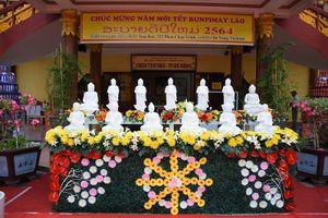 Đà Nẵng: Tết cổ truyền Bunpimay tại chùa Tam Bảo