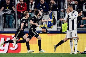 Ngày này năm xưa: Ronaldo bất lực nhìn Juventus bị loại ở Champions League