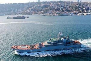 Thêm hai chiến hạm Nga tiến vào biển Đen