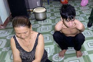 Phá tụ điểm bán ma túy do 2 mẹ con cầm đầu