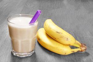 Mẹo làm sữa lắc chuối thơm ngon